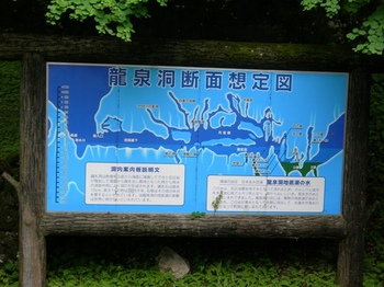 20100719龍泉洞(03)龍泉洞断面図.JPG