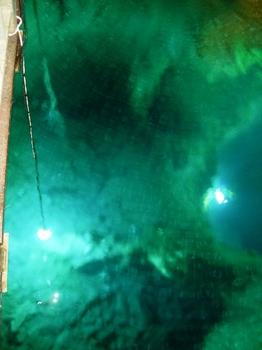 20100719龍泉洞(16)第三地底湖2.JPG
