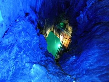 20100719龍泉洞(17)第一地底湖展望台.JPG