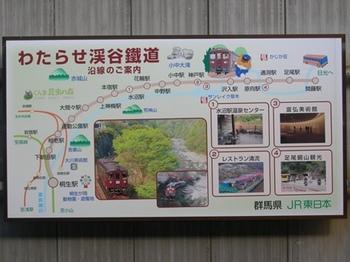 20110213小野上温泉(17)桐生駅のわたらせ渓谷鉄道案内.jpg