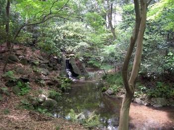 小石川後楽園木曽川と寝覚の滝.jpg