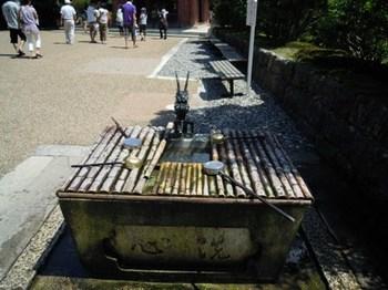 比叡山延暦寺07大講堂前の手水.JPG