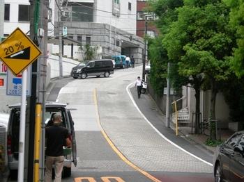 江戸見坂(07)坂の下から.JPG