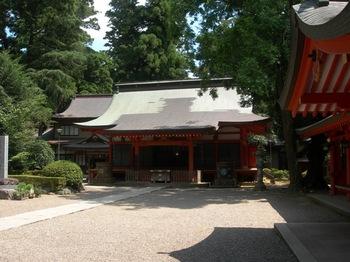 香取神宮(11)神楽殿.JPG