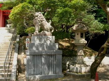 香取神宮(16)総門前の狛犬.JPG
