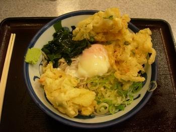 香取神宮(31)冷やし天玉蕎麦.JPG